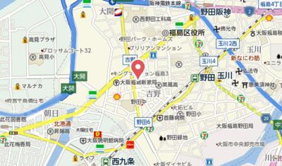 【地図】リブリー野田