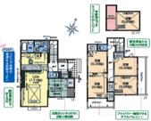 新築分譲住宅 日高市四本木2丁目 全2棟(1号棟)の画像