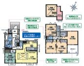 新築分譲住宅 日高市四本木2丁目 全2棟(2号棟)の画像