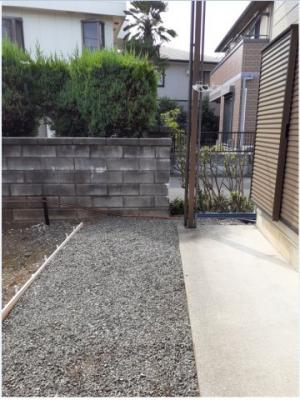 【庭】松葉町遠山様アパート