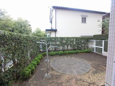55.84平米の専用庭です。
