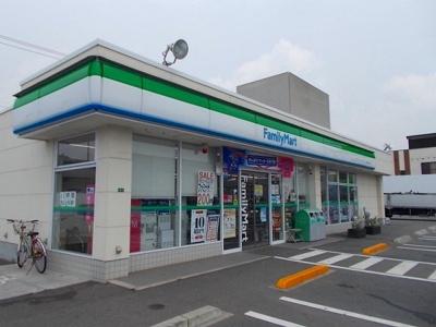 ファミリーマート新浜店まで450m