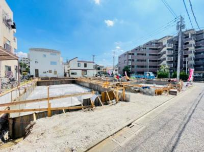 【外観】足立区六月3丁目新築戸建て【全7棟】