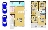 川西市清和台西2丁目7の65 新築一戸建ての画像