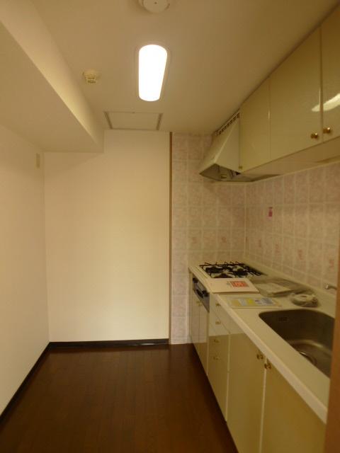キッチンは独立しているので、リビングが広く使えます。
