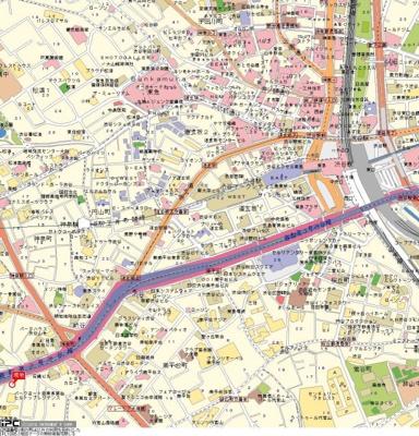 【地図】グランド・ガーラ渋谷