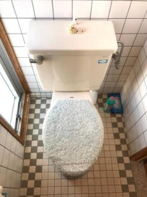 清潔感のあるトイレ!シンプルで使いやすいトイレです。