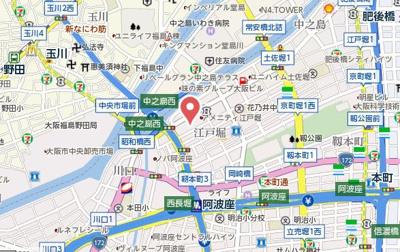 【地図】ロイヤルヒルⅡ