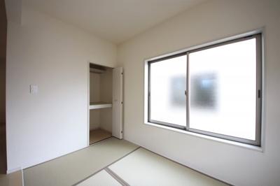 1号棟 フローリングだけでなく、和室もあります