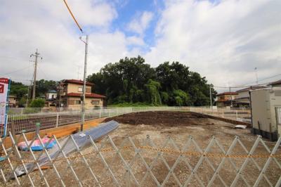 (撮影8月31日) 1号棟~4号棟 建築現場 前面道路等