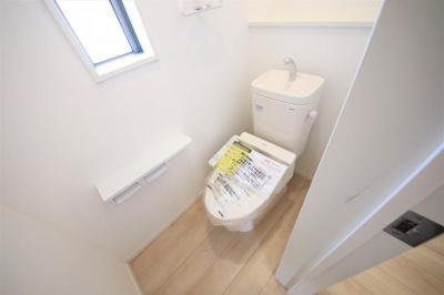 7号棟 トイレです