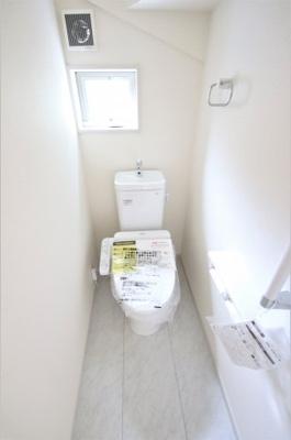 1号棟 さわやかなトイレ!