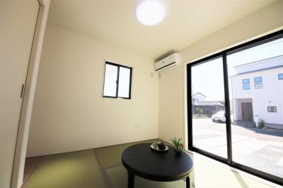 3号棟 和室があれば、来客や子供用のスペースとして活躍します