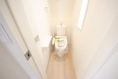 2号棟 コンパクトで使いやすいトイレです