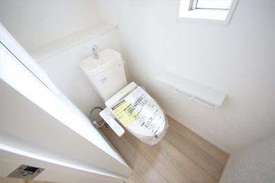 1号棟 シンプルで使いやすいトイレです