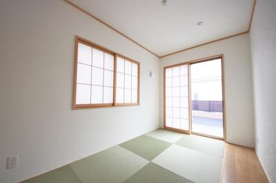 1号棟 和室があると落ち着いた雰囲気になりますね