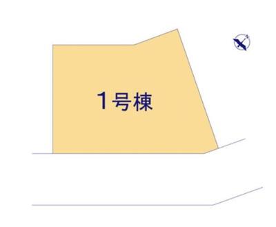 【区画図】リーブルガーデン第2小山立木