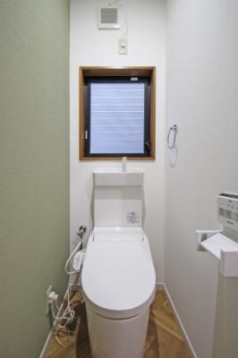 1階トイレ:温水洗浄便座