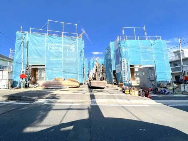 <全4棟>全棟敷地面積120㎡以上!テレワークルームあり 旭区市沢町の画像