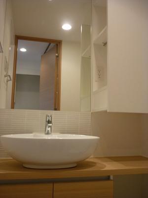 日々の生活に便利な「洗面台」