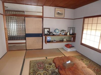 和室を使いやすい洋室にするプチリノベも人気があります♪(2021年8月撮影)