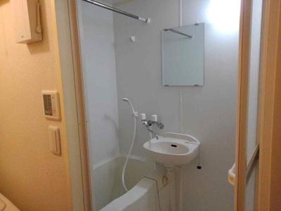 【浴室】レオパレスUNEMEⅡ