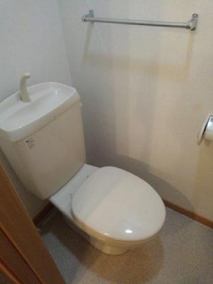 【トイレ】コーポラス西野山