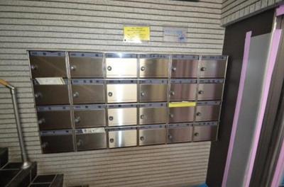 マンション都立大のメールボックスです。