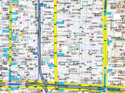【地図】エステムプラザ大手前エヴァース