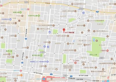 【地図】マンションSGI朱雀大路