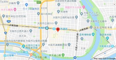 【地図】ルーチェ南森町