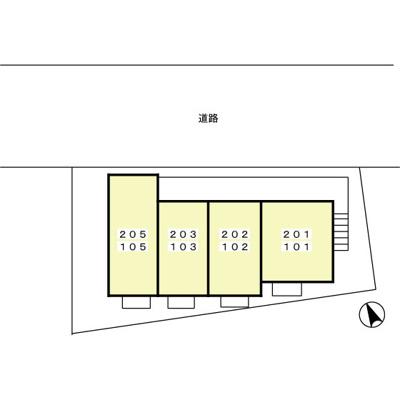 【区画図】ラマージュ鎌倉