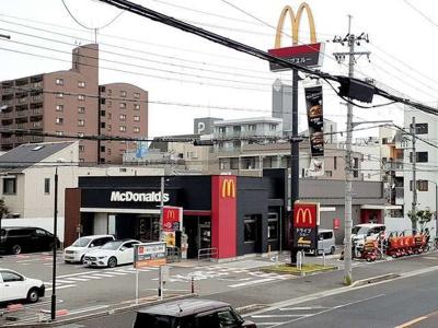 マクドナルド2号線大久保店まで290m