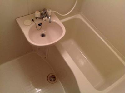 【浴室】レオパレスブレッシング