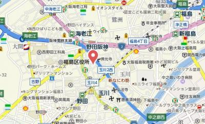 【地図】SERENiTE福島scelto