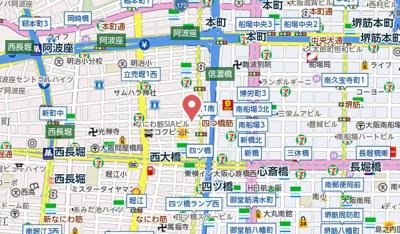 【地図】ALIVIO新町