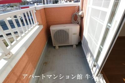 【バルコニー】レジデンスさくら台F