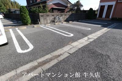 【駐車場】レジデンスさくら台F