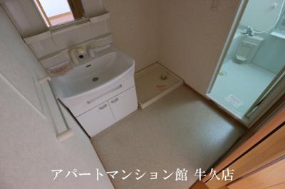 【洗面所】レジデンスさくら台F