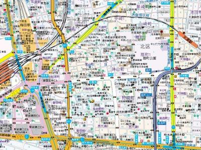 【地図】シェリロ神山