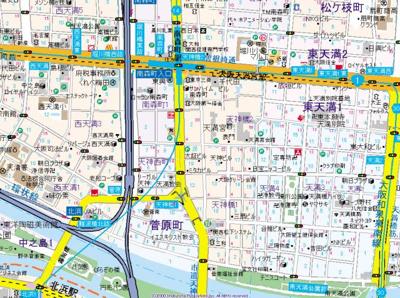 【地図】AXY A&M