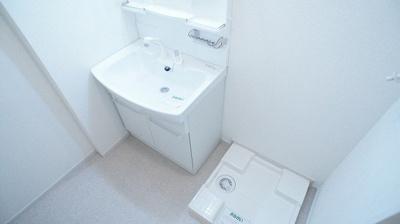 【洗面所】メルティング ポット 清水台