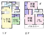 東松山市若松町1丁目 新築分譲住宅の画像