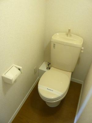 トイレも清潔です!