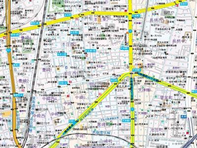 【地図】アークアベニュー梅田北