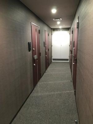 「共用廊下部分」