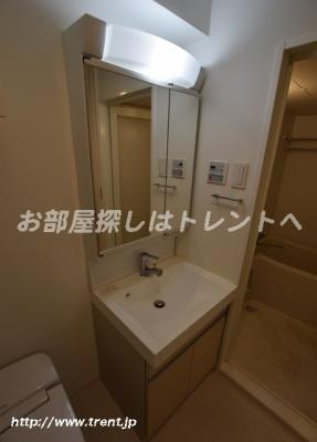 【洗面所】プラウドフラット八丁堀