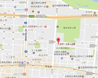 【地図】ロワリオン上町