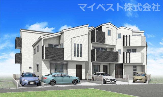 全4棟 新築分譲住宅 富士見市東みずほ台3丁目の画像