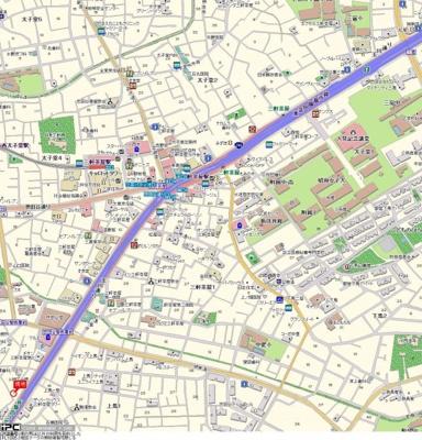【地図】ステージファースト三軒茶屋